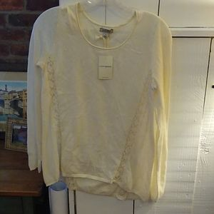 Lucky brand cotton blouse new with tag